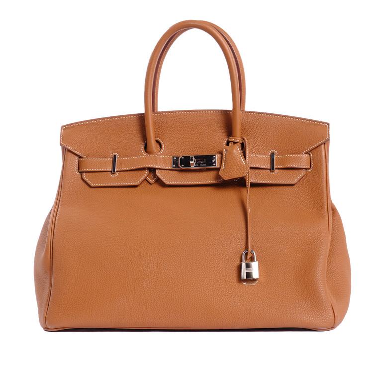 Women Hermès Birkin 35 -  Brown