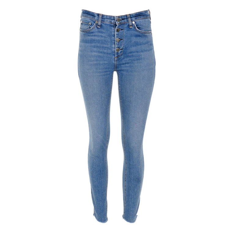 Women Rag & Bone Anna High Rise Ankle Skinny Jeans Blue - US 26  Blue Size S
