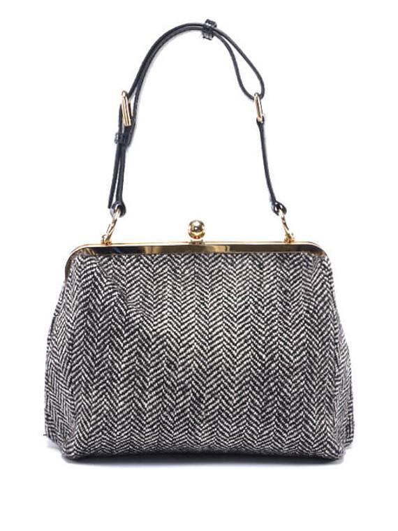 Women Dolce & Gabbana Wool Bag -  Grey