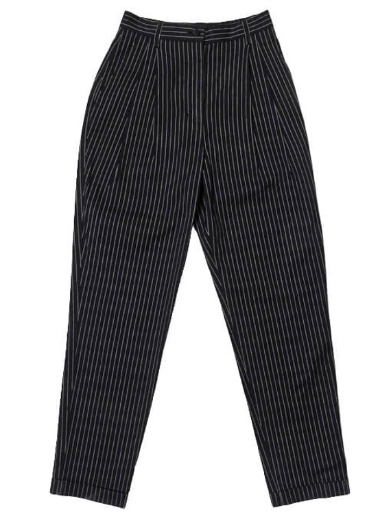 Women Dolce & Gabbana Pinstripe Pant -  Blue Size XS IT 36 US 0