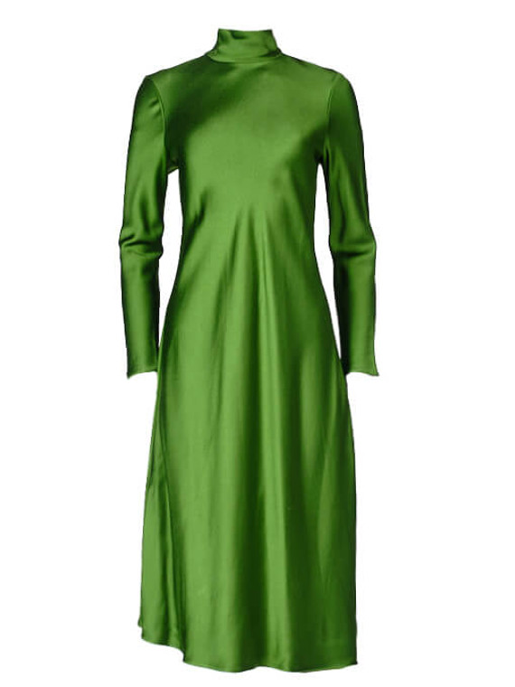 Women Rabih Keyrouz Midi Dress -  Green Size M FR 38 US 6