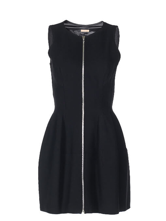 Women Alaïa Zipper Dress -  Black Size M FR 40 US 8