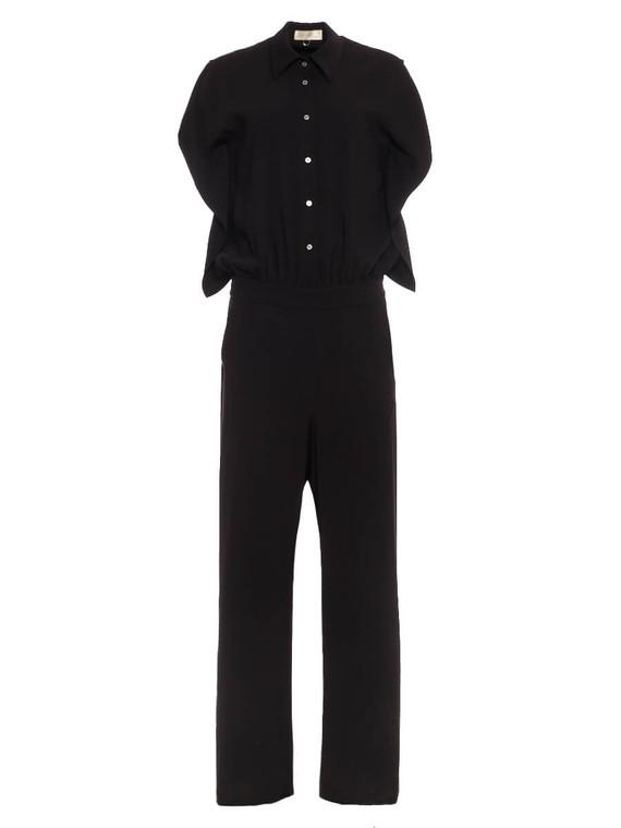 Women Mantū Open-Back Jumpsuit -  Black Size M IT 44 US 8