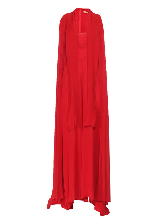 Women Elie Saab Sleeveless Jumpsuit -  Red Size L FR 44 US 12