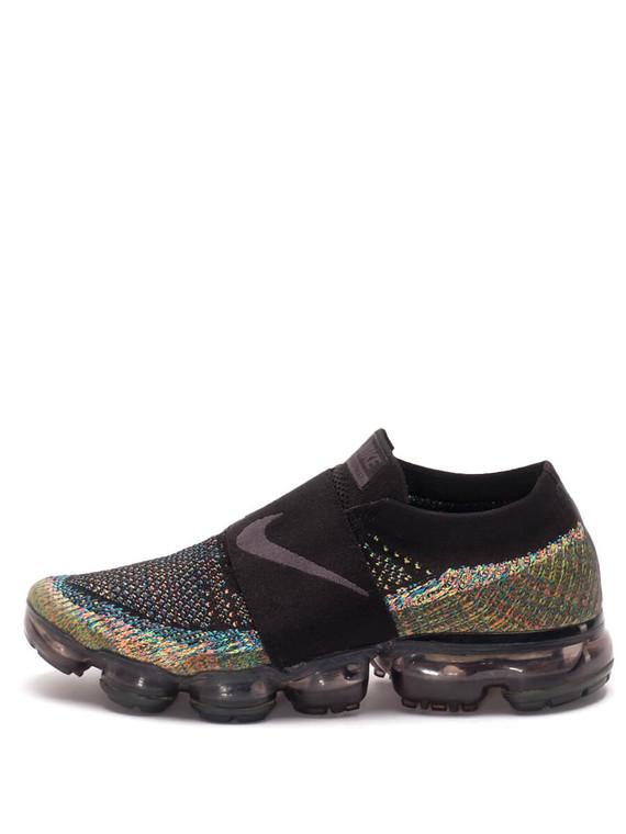 Women Nike Vapor Max -  Black/White/Blue/Pink Size 39 US 8