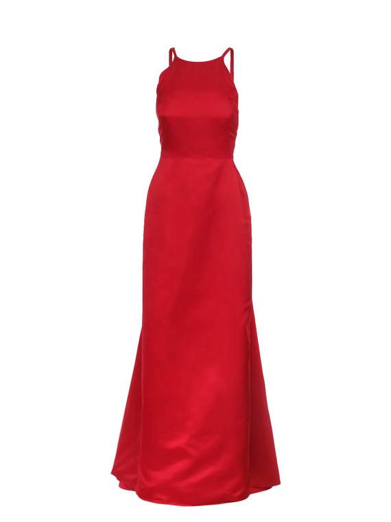 Women Oscar de la Renta Gown -  Red Size S