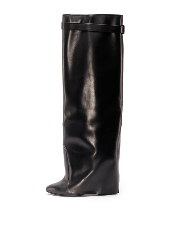 Women Givenchy Shark Boots -  Black Size 39 US 9