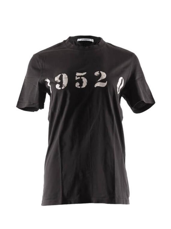 Women Givenchy 19520 Signature T-Dart T-Shirt Black Size S FR 36 US 4
