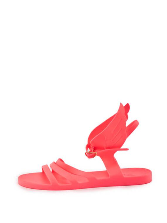 Women Ancient Greek Sandals Ikaria Wing Jelly Sandals - Pink UK 6 US 9 EU 39