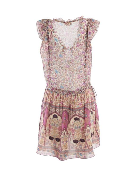Women Zadig & Voltaire Floral Print Dress - Multicolour Size S UK 8 US 4