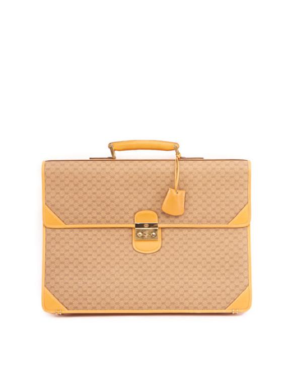 Women Gucci Document Bag - Brown