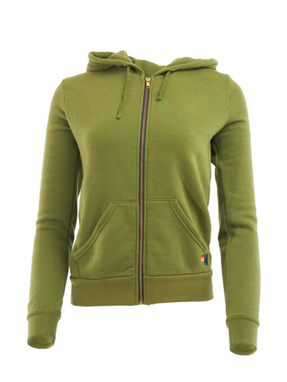 Women Aviator Nation Sweatshirt - Green Size XS UK 6 US 0