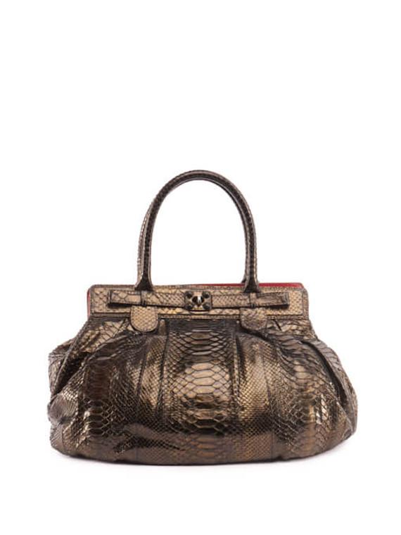 Women Zagliani Handbag - Brown