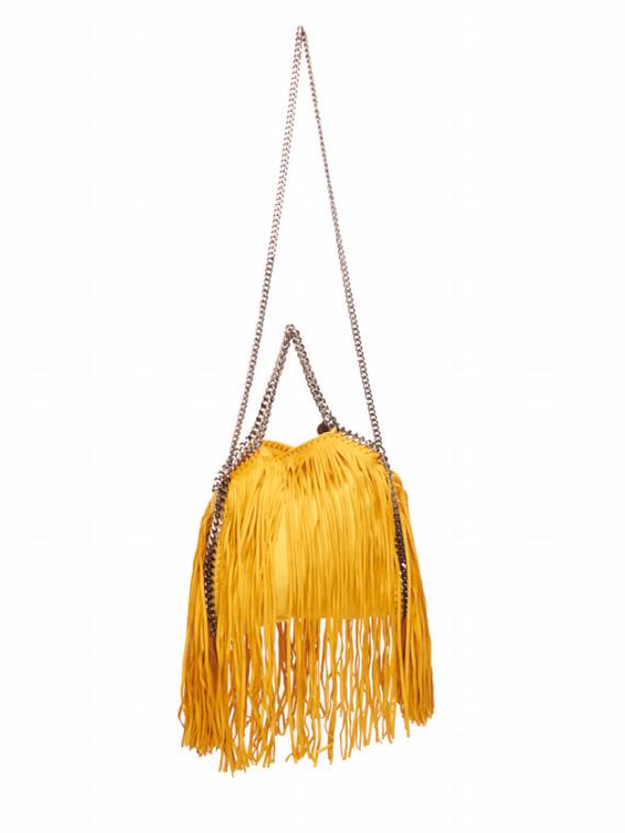 Mini Falabella Fringed Bag