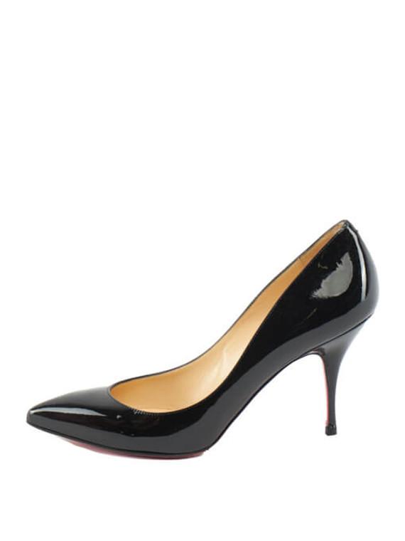 Women Christian Louboutin So Kate Patent Pumps - Black Size UK 5.5 US 8.5 EU 38.5