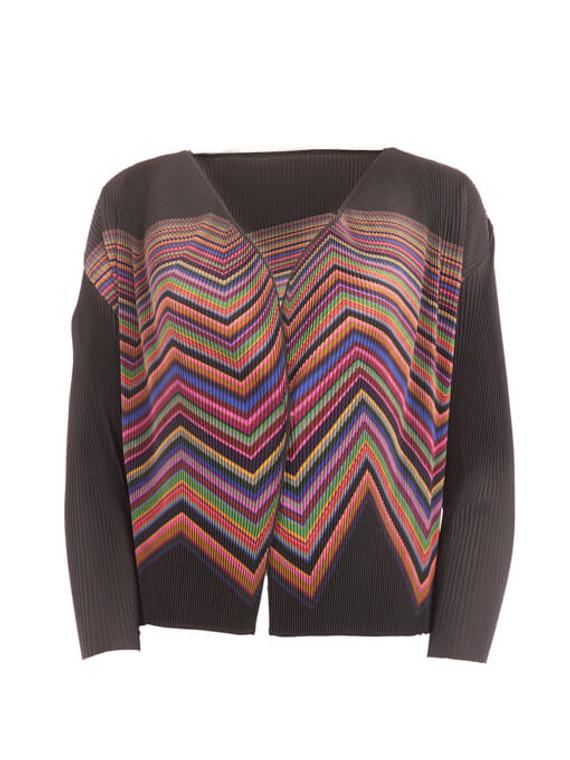 Women Issey Miyake Multicolour Cardigan - Multicolour Size M