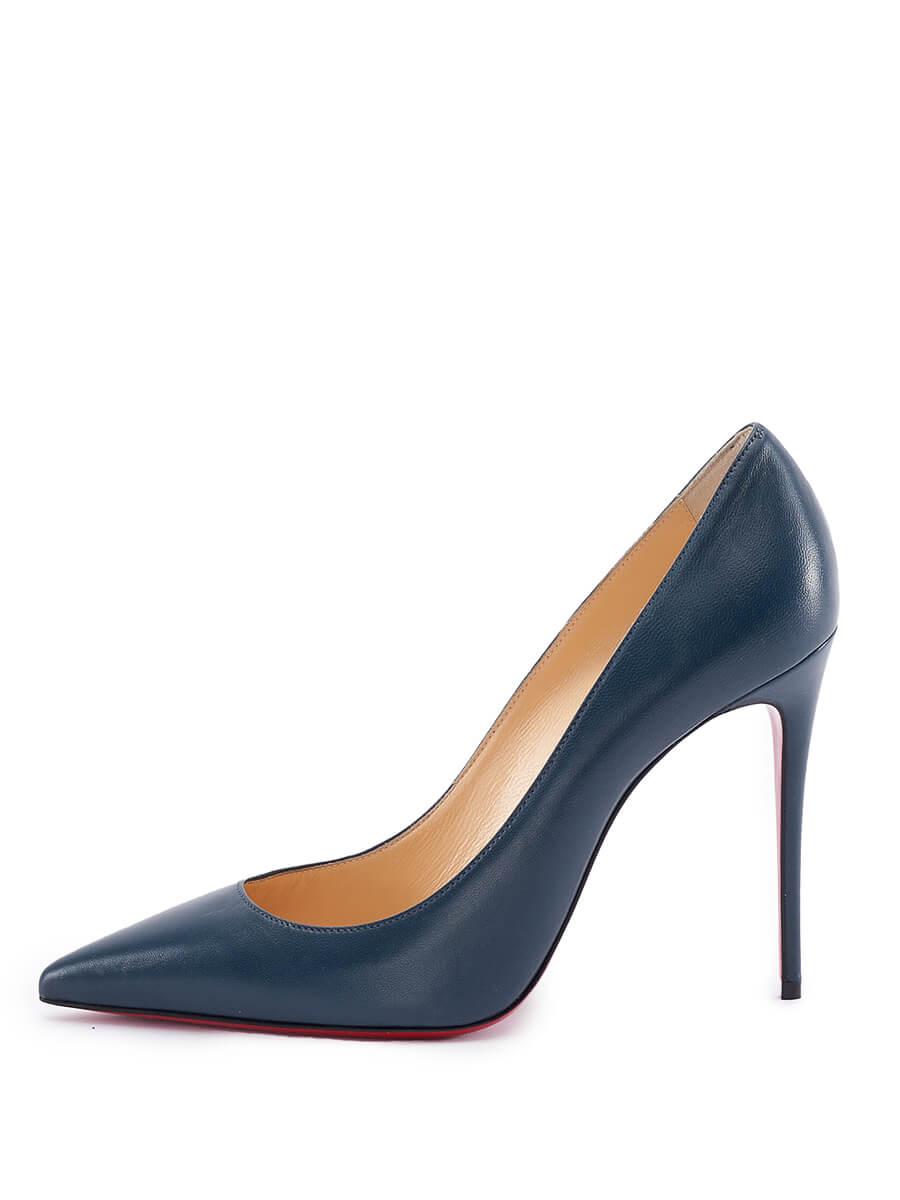 Women Christian Louboutin So Kate Pump Heels - Blue Size UK 6 US 9 EU 39