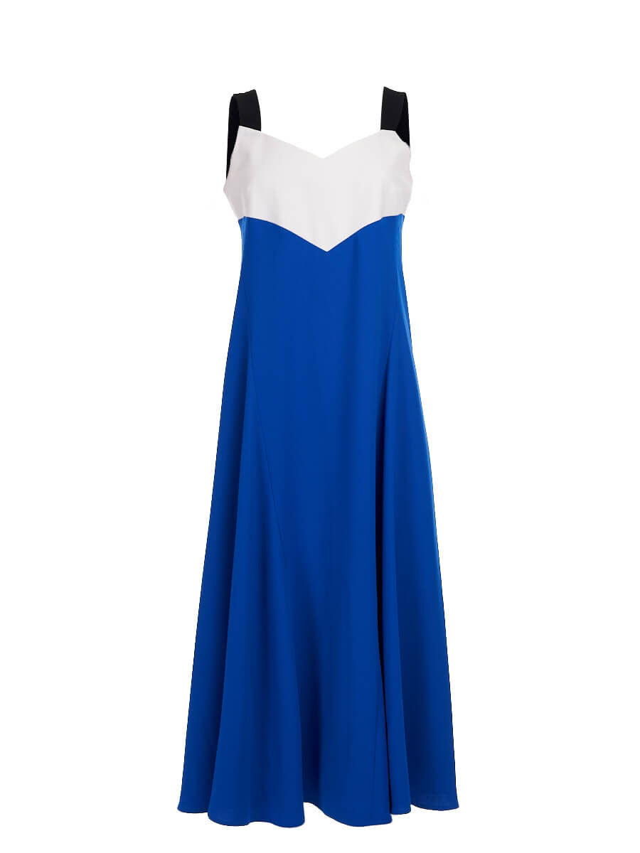 Women Kenzo Sleeveless Dress - Blue Size M UK 10 US 6 FR 38