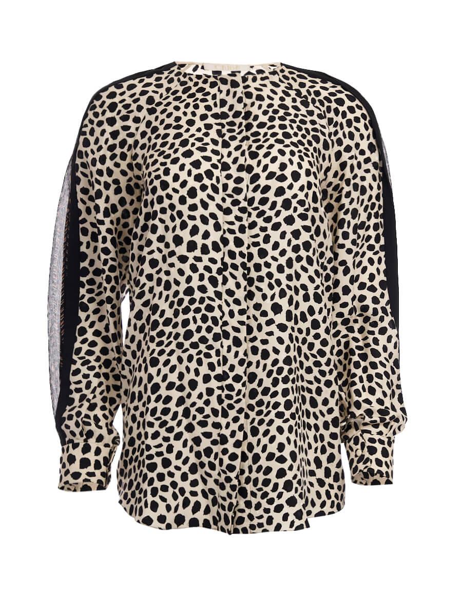 Women Chloé Patterned Blouse - Multicolour Size S UK 8 US 4 FR 36