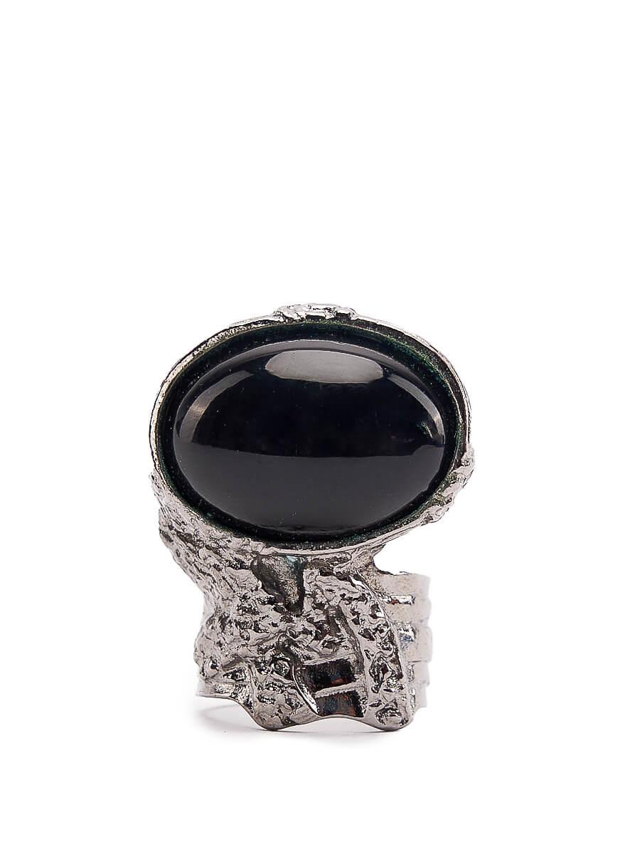 Women Yves Saint Laurent Black Arty Cocktail Ring