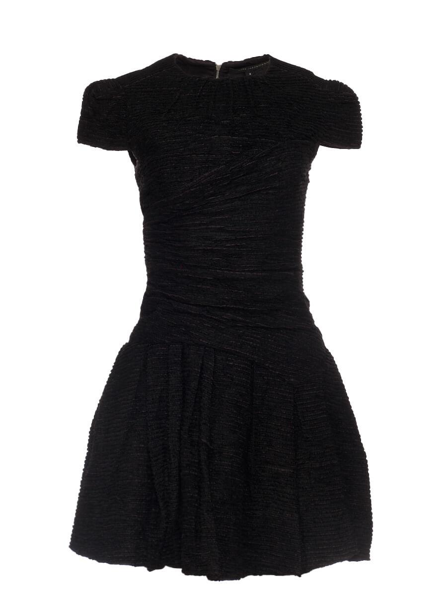 Women Marc Jacobs Tweed Dress -  Black Size M US 6