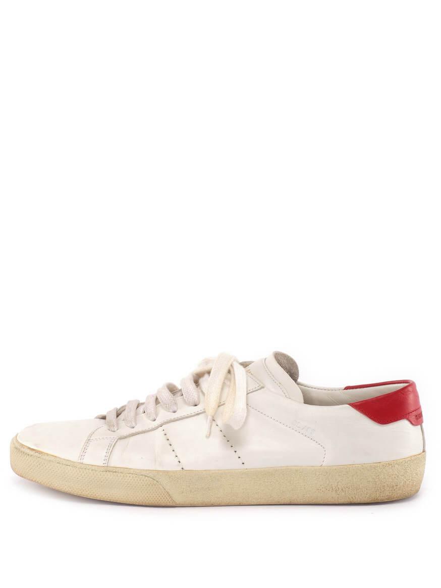 Women Saint Laurent SL/06 Court Classic Sneakers - White Size UK 5 US 8 EU 38
