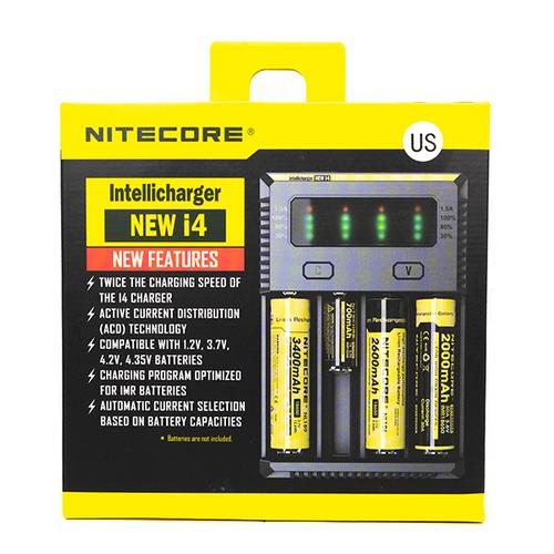 Nitecore i8 Multi-slot Intelligent Universal Battery Charger 18650 26650 16340 F
