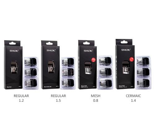 SMOK Novo Pods 3-Pack All Pods