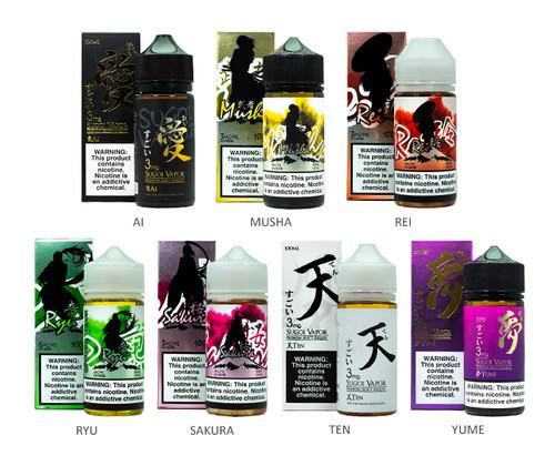 Sugoi Vapor 100mL All Flavors
