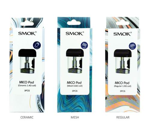 SMOK Mico Pods All Pods 3-Pack