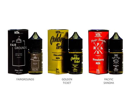 Met4 Vapor Salt Series 30mL All Flavors