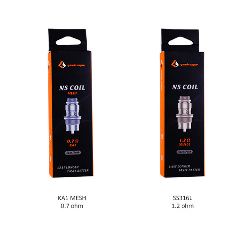 GeekVape Frenzy NS Coils (5-Pack)