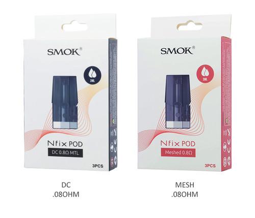 Smok-Nfix-Pods-All-Options