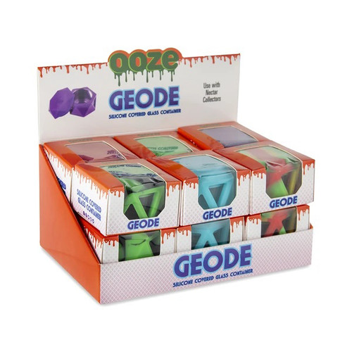 Ooze-Geode-Silicone-and-Glass-Container-Display-12ct.