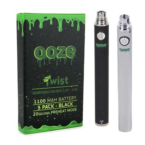 Ooze-1100-Twist-Battery-5-Pack
