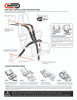 Seat Belt / Seat Harness Installation Instructions