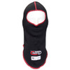 Short Black/Red Carbite Hood