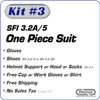 Kit-3 SFI 3.2A/5 2-Layer One Piece Racing Suit Package