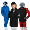 Kit #4 Race Suit Colors Blue Black Red