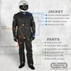 PROFOX SFI-1 Jacket Features