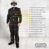PROFOX-5nx™ One-piece Nomex Suit Features
