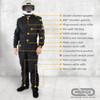 PROFOX-5nx™ One-piece Nomex Suit Features