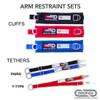 Arm Restraint Set Options