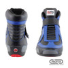 PROFOX Challenger Mid-Top Blue Racing SFI 20 Shoes - Front view