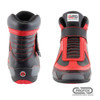 PROFOX SFI-20 Challenger Mid-Top Red Racing SFI 15 Shoes - Front view
