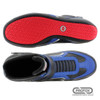 PROFOX SFI 20 Challenger Blue Racing Shoes - Bottom / Top View