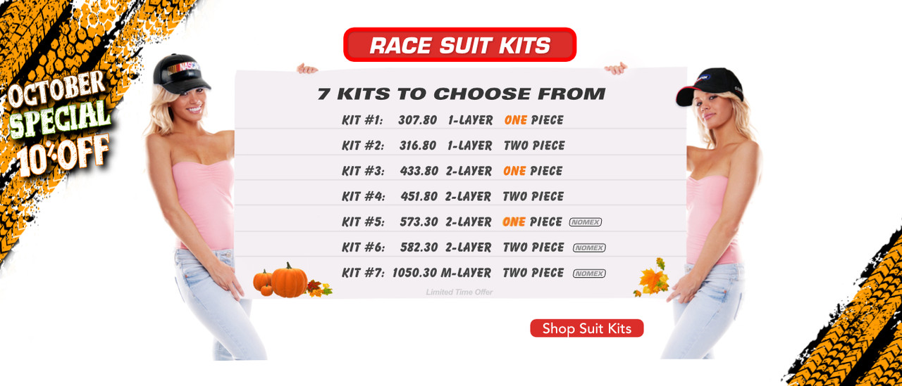 Complete Racing Suit Packages