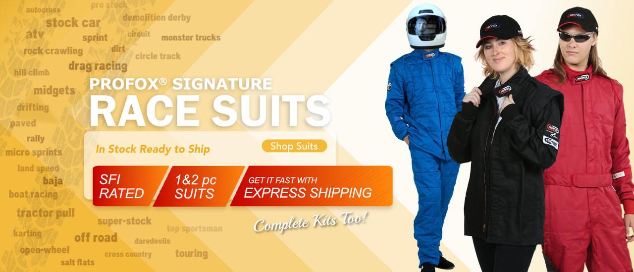 PROFOX SFI 20 SFI 15 Auto Racing Suits