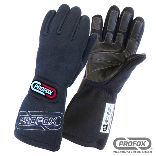 Flame Resistant Drag Racing Gloves SFI 3.3-15