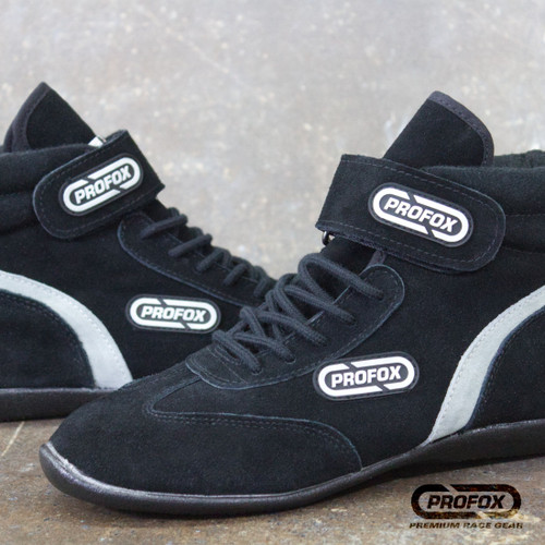 Black Auto Racing Shoes